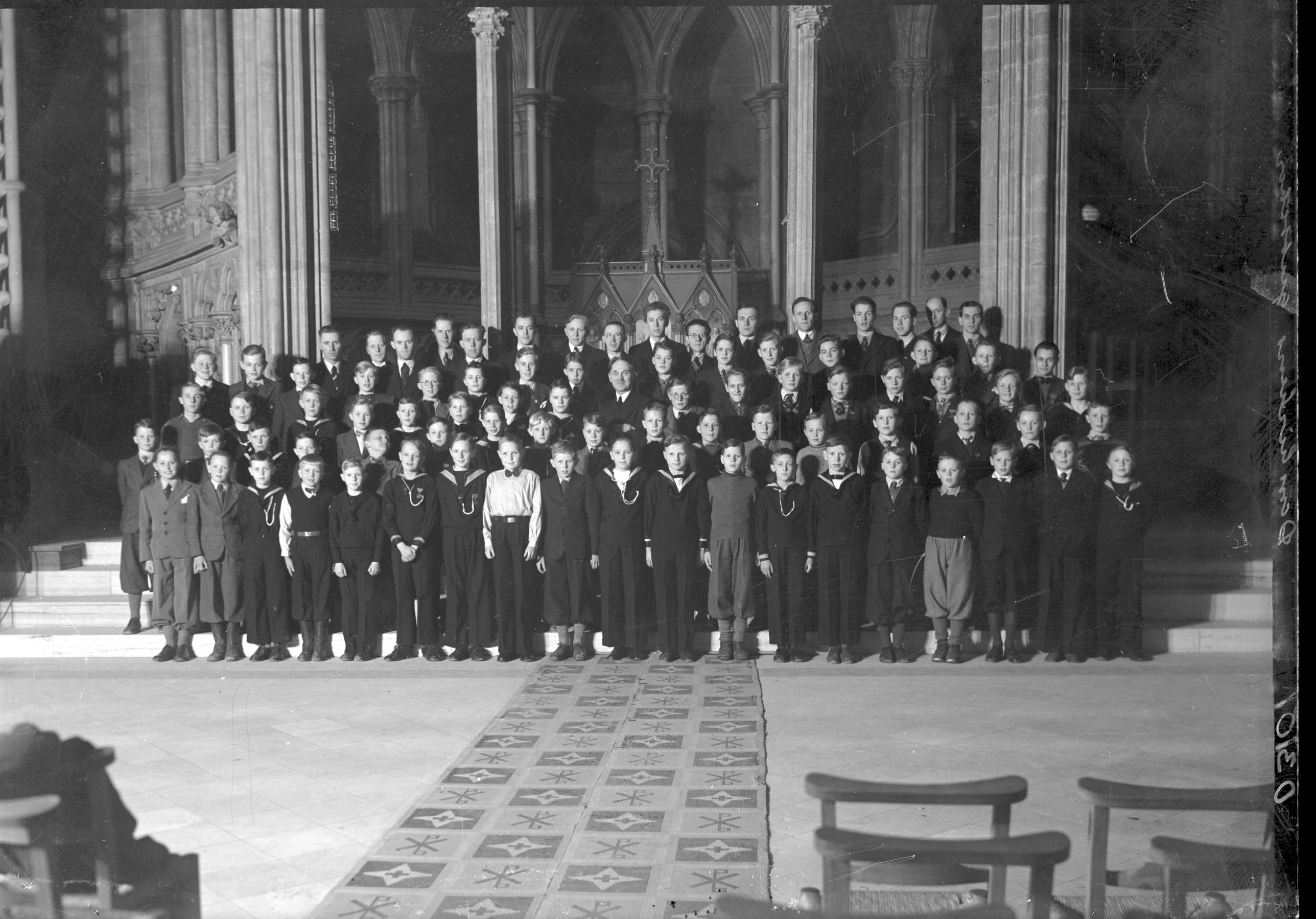 Domkirkens guttekor 1943