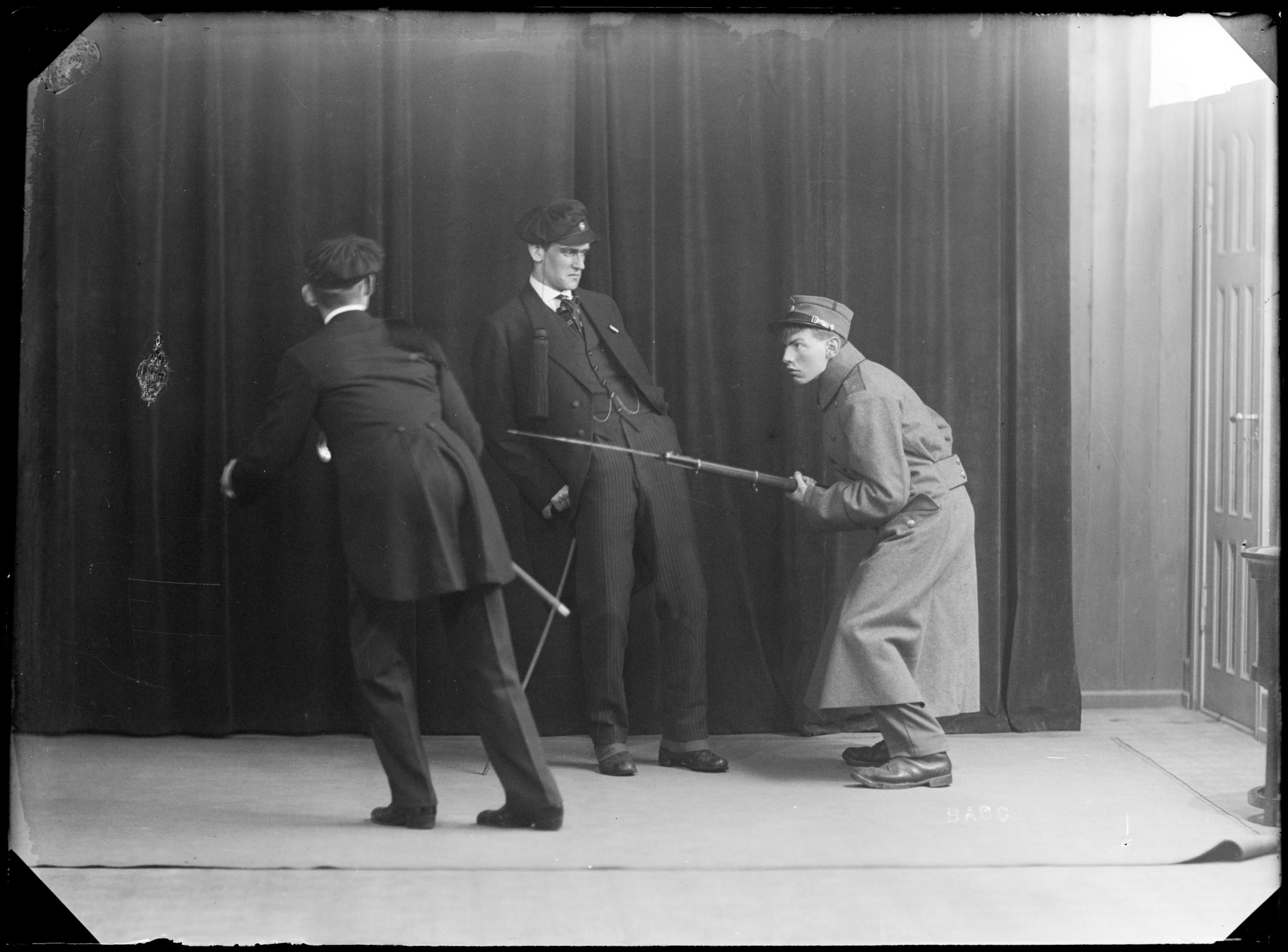 «Baccarat» var den første store revysuksess, som brakte studentene i Trondhjem ry landet over.